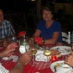 Happy customers visiting Ngwenya Lodge