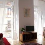 Morena apartment living room