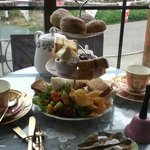 Afternoon tea was gorgeous