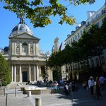 View of the Place de la Sorbonne