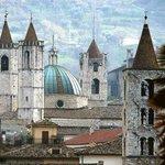 The beautiful Ascoli Piceno, 15minutes drive from Villa Bussola