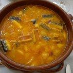Suquet de anguila -  Restaurant IBÈRIC (Ullastret)