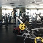 Gym of the hotel - well equipped