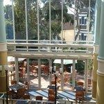 View overlooking Bonnetis restaurant