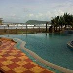 Pool close to the beach
