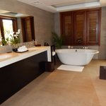 Suite Bathroom with Free Standing Tub