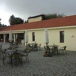 Alfresco dining area