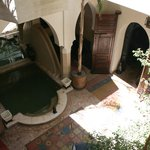 Small central place within the Riad
