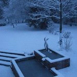 Winter Scene from one of the bedrooms
