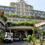 Facade of Atlantic Palace Hotel