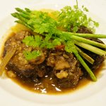 Braised Wagyu cheek