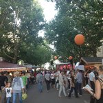 Street Market in August