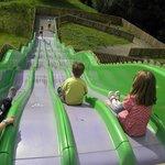 The huge slide