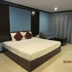 King size bed -Room 708