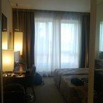 La camera twin bed uso singola