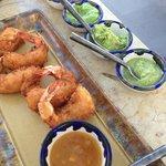 Coconut shrimp, we should have ordered more :)