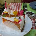 ..a little cake