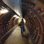 Ecco il tunnel...