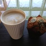 Illy Coffee And A Muffin