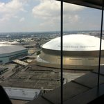 A View of the Dome from the Fitness Center...Very Close