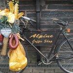 Quirky little bike outside