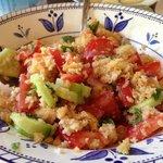 Panzanella - bread salad. Delish