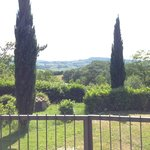 Take a walk around the grounds after the class for more awesome Tuscan views!