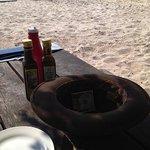 Beachside eating