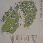 Resort Map-- McKinley Princess Wilderness Lodge
