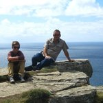 Us at the Cliffs of Moher