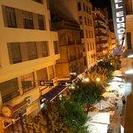 Vista su calle Ribera