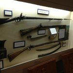 Rifles and swords