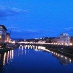 Florence at night.