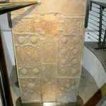 Pictish cross slab at Nigg Old church
