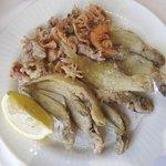 Pescadito, pescadilla, pelaya, gambas, calamares...