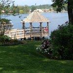 Lake side gazebo