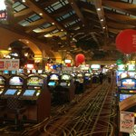 Spacious casino, very good service throughout