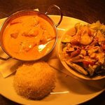 delicious homemade curries and Wednesdays meal: Any Curry & selected drink for just £5,95