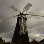 restored windmill in york