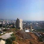Linda vista da cidade e do Monte Líbano!