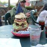 Travel Channel Burger @West Rib