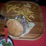 Texas burger delicious