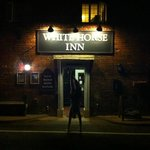 Pub at night