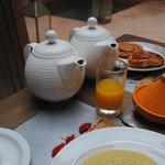 Magnífico desayuno