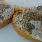 Truffles on toast