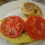Med Revival garden omelet