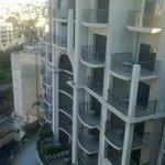 Hotel von der Dachterrasse