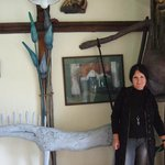 Interiors are mix of folk and nature-art