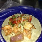 Shrimp Taco! Yummy!
