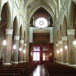 Nave principal, coro y órgano de tubos